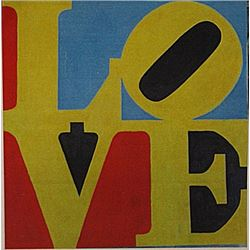 Robert Indiana - Love NO. 7