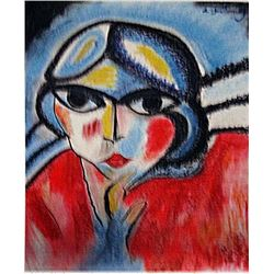 Aleksey Von Jawlensky - Woman Portrait