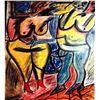 Willem De Kooning - Two Woman I