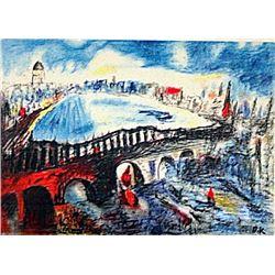 Oskar Kokoschka - The Bridge