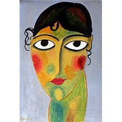Portrait of a Woman - Alexej Von Jawlensky