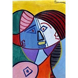 Buste De Femme 47' - Pablo Picasso