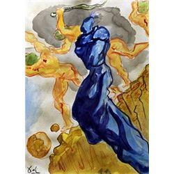 Salvador Dali on Paper