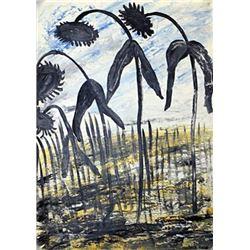 Anselm Kiefer - Sunflower