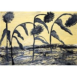 Anselm Kiefer - Sunflower I