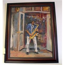 Original Oil on Canvas Jorn Fox