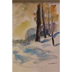 """WINTER'S EVE"" BY MICHEL SCHOFIELD"