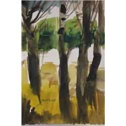 """BIRCH FOREST"" BY MICHAEL SCHOFIELD"