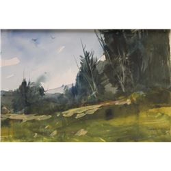 """PINE LANDSCAPE"" BY MICHAEL SCHOFIELD"