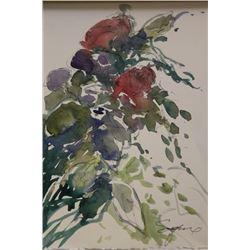 """ROSE BUSH"" BY MICHAEL SCHOFIELD"