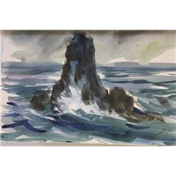"""SEA STACK II""  BY MICHAEL SCHOFIELD"