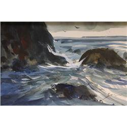 """CRASHING WAVES""  BY MICHAEL SCHOFIELD"