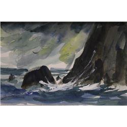 """CRASHING WAVES II""  BY MICHAEL SCHOFIELD"