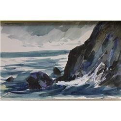 """CRASHING WAVES III""  BY MICHAEL SCHOFIELD"
