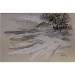 """SNOW DRIFT"" BY GORDON SIMINOS"
