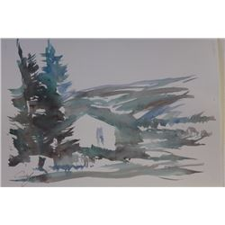 """CHRISTMAS TREE HUNTING"" BY MICHAEL SCHOFIELD"