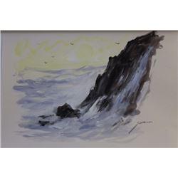 """""""ROCKY WAVES II""""  BY MICHAEL SCHOFIELD"""