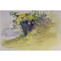 """""""SPRING FLOWER PAIL"""" BY MICHAEL SCHOFIELD"""