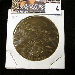 1995 Ankeny, Iowa Avviation Expo Medal, br., rd., 39mm.