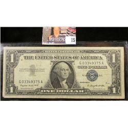 Series 1957A U.S. One Dollar Silver Certificate.