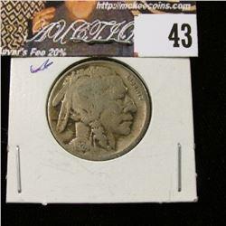 1924 P Buffalo Nickel, VG.