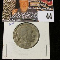 1925 P Buffalo Nickel, VG.