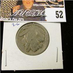 1915 D Buffalo Nickel, VG.