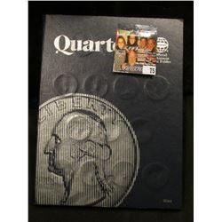 1965-88 Complete Set of Washington Quarters in a Whitman folder. ($10.75 face value).