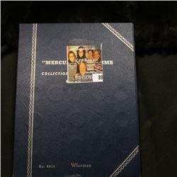 1917-45S Partial Set of Mercury Dimes in a blue Whitman folder. (18 pcs.).