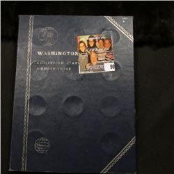 1965-79 Partial Set of Washington Quarters in a blue Whitman folder. ($5.25 face value)