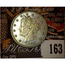 1883 No Cents Liberty Nickel, Uncirculated.