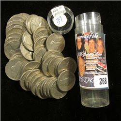 (40) 1939 P Circulated Jefferson Nickels in a plastic tube.