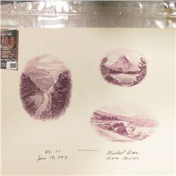 """Bureau of Engraving and Printing No.11 June 18, 1993 Michael Bean Plate Printer"" Proof."