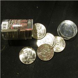 1968 D Original BU Roll of Kennedy Silver Half Dollars. (20 pcs.).