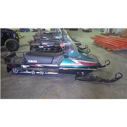 2008 Yamaha Bravo cargo snowmobile 250cc 390 km (has ski damage)