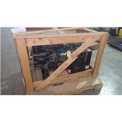 New unused in crate Onan 7500 power plant Liquid cooled Kubota diesel 18 KVA generator model DKAE -5