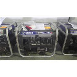2008 Yamaha 2800 watt gas generator
