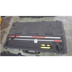 Trimble surveying equipment in Pelican Case