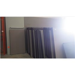 1 lot of office dividers