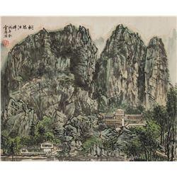Bai Xueshi 1015-2011 Chinese Watercolour PaperRoll