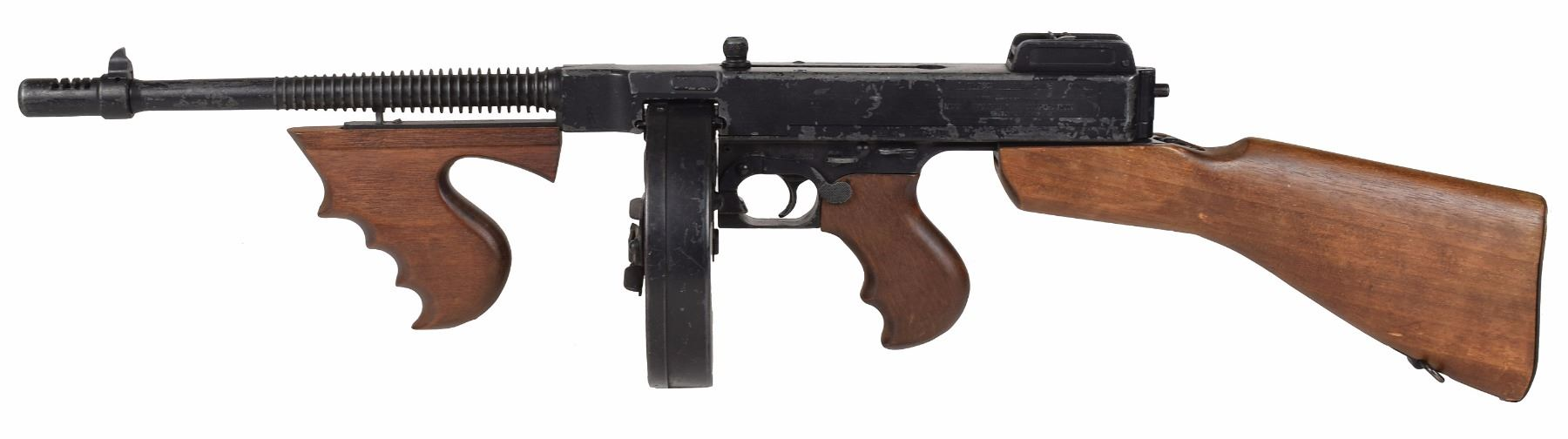 Bonnie and Clyde Prop Machine Gun from the 1967 Movie