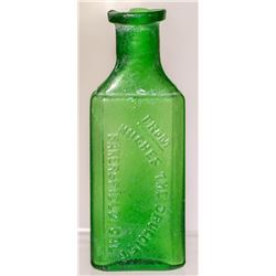 Hughes, The Druggist, Drug Bottle (Bakersfield, California)