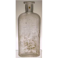 L.C. Tibbits Druggist Bottle (Columbia, California)