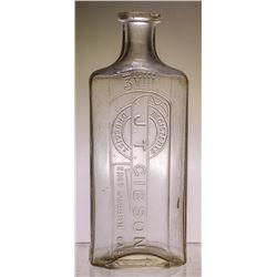 J.T. Gibson, East Auburn Drug Store Bottle (East Auburn, California)