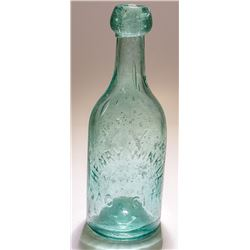 Henry Winkle, Sac. City Gold Rush Soda Bottle (Sacramento, California)