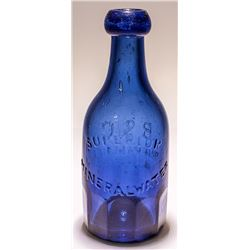 B & G, Superior Mineral Water, Soda Bottle, Gold Rush (San Francisco, California)