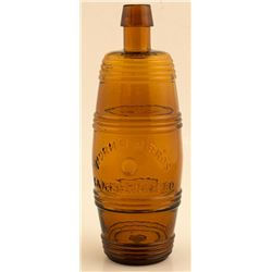 Wormser Brothers, Barrel Bitters Bottle (San Francisco, California)
