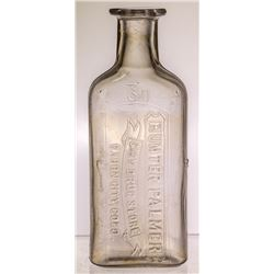 Hunter Palmer Drug Store Bottle (Canon City, Colorado)
