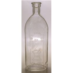 Owl Drug Co. Drug Store Bottle (Lewiston, Idaho)