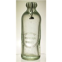 Shoshone Bottling Works Soda Bottle (Idaho)